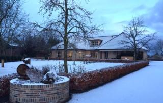 Winter op Zorgboerderij Bosserhof