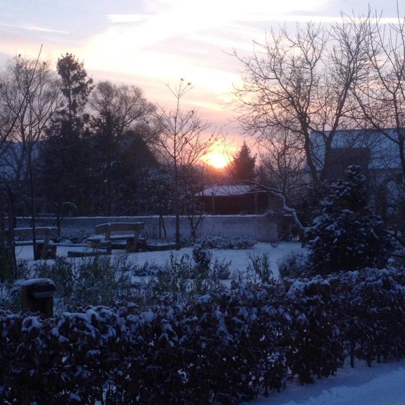 Wintertijd op de Bosserhof