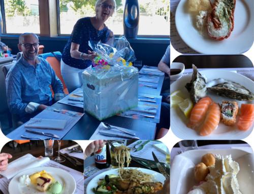 Vrijwilligers Bosserhof bij wereld restaurant Atlantis
