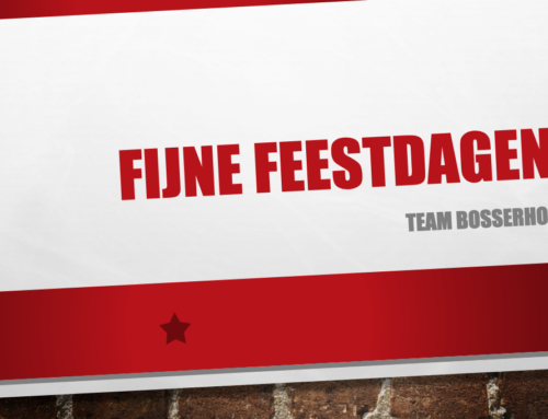 Fijne feestdagen van team Bosserhof